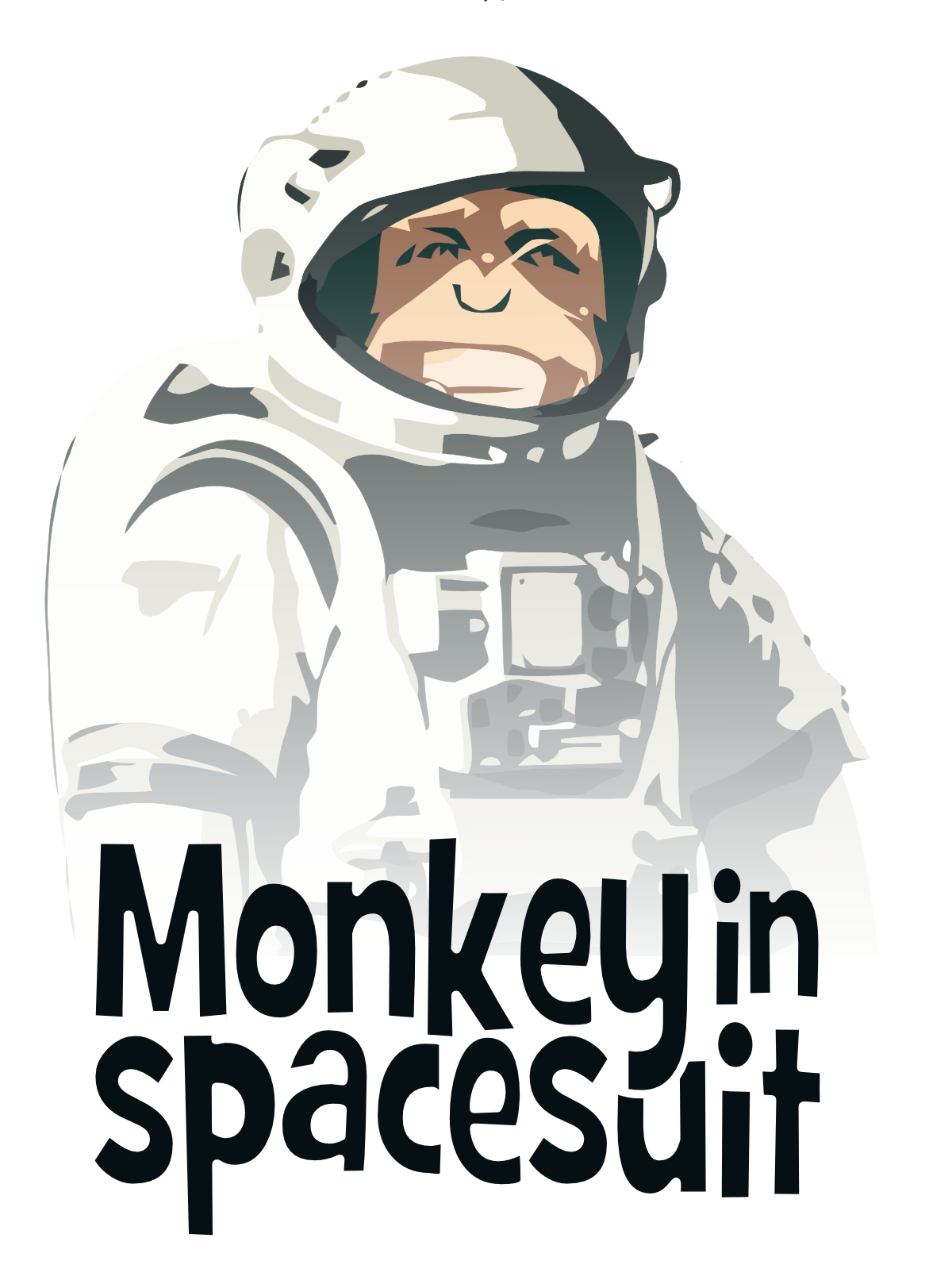space suit with monkey